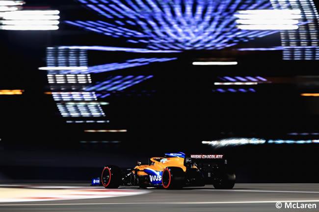 McLaren - Clasificación - GP Bahréin 2021