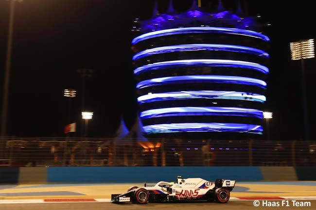 Mick Schumacher - Haas - Clasificación - GP Bahréin 2021