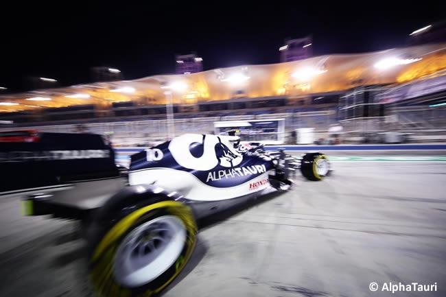 Pierre Gasly - AlphaTauri - Clasificación - GP Bahréin 2021