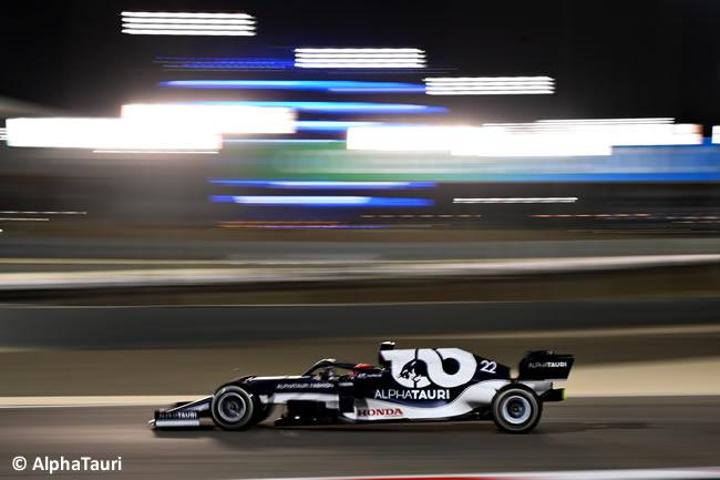 Tuki Tsunoda - AlphaTauri - Carrera - GP Bahréin 2021