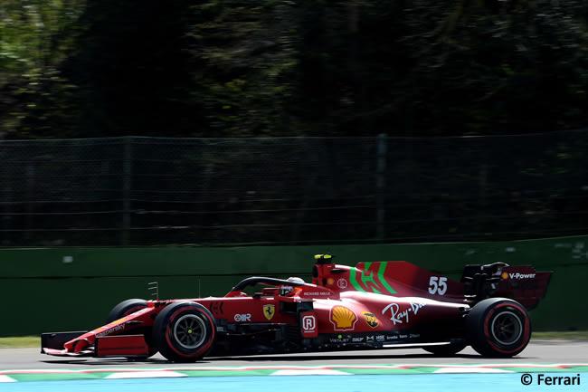 Carlos Sainz Scuderia Ferrari - Entrenamientos Libres 2 - FP2 - GP Emilia Romaña 2021