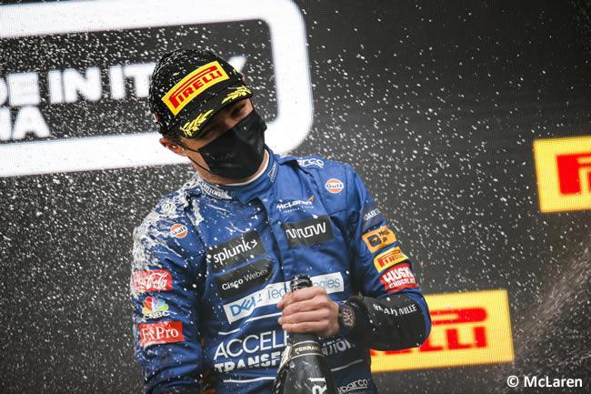 Lando Norris - McLaren - Carrera - GP Emilia Romaña 2021
