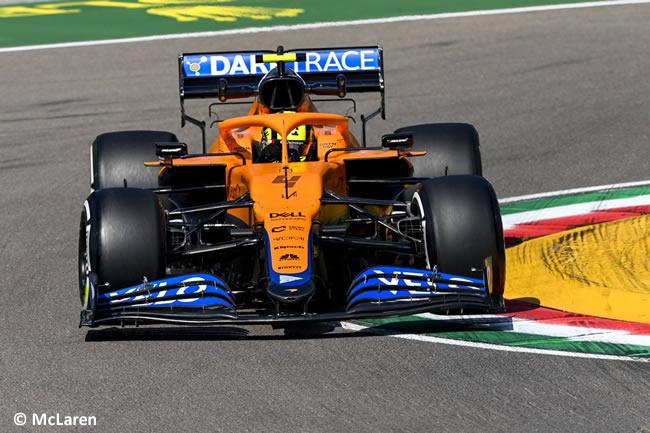 Lando Norris - McLaren - Entrenamientos Libres 2 - FP2 - GP Emilia Romaña 2021