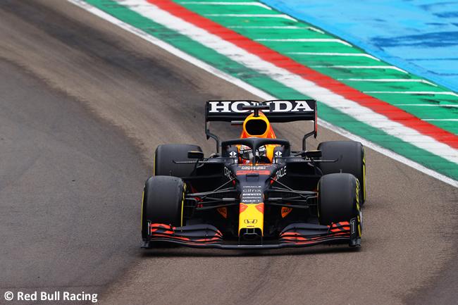 Max Verstappen - Red Bull Racing - Carrera - GP Emilia Romaña 2021