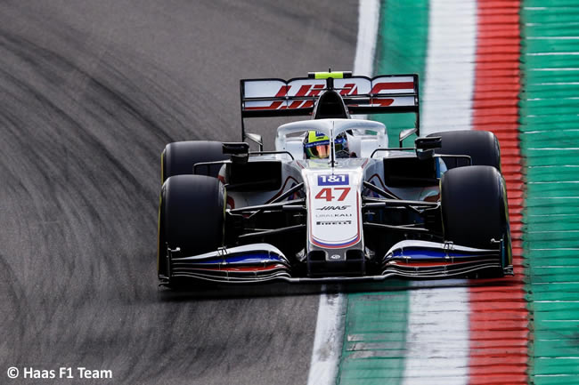 Mick Schumacher - Haas - Entrenamientos Libres 2 - FP2 - GP Emilia Romaña 2021