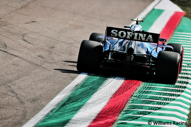 Williams - Mercedes - Entrenamientos Libres 2 - FP2 - GP Emilia Romaña 2021