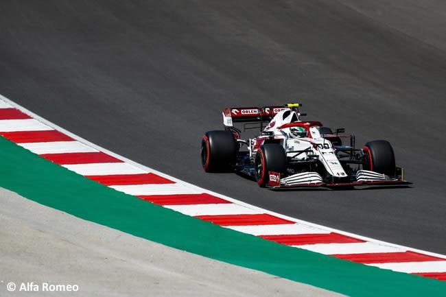 Antonio Giovinazzi - Alfa Romeo - Clasificación - GP Portugal 2021