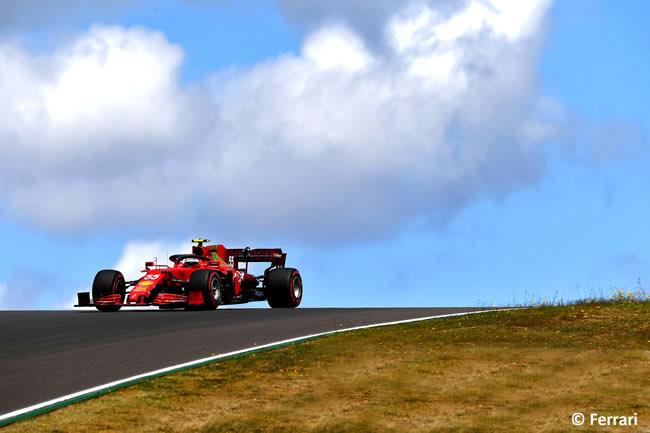 Carlos Sainz - Ferrari - Clasificación - GP Portugal 2021