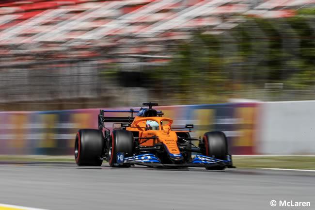 Daniel Ricciardo - McLaren - Clasificación - GP España Barcelona - Montmeló 2021