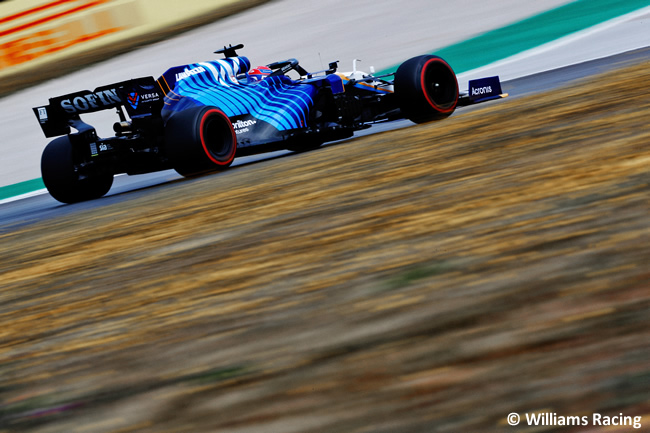 George Russell - Williams - Clasificación - GP Portugal 2021