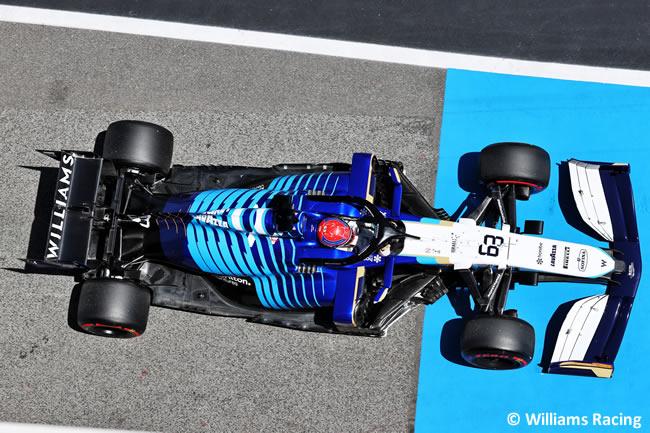 Geroge Russell - Williams - Clasificación - GP España Barcelona - Montmeló 2021