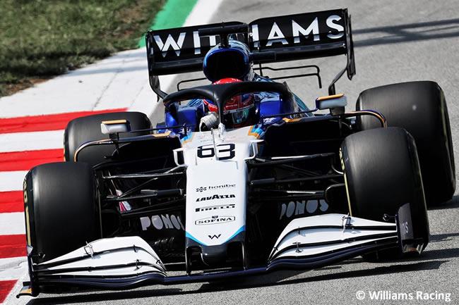 George Russell - Williams - Entrenamientos Libres 2 - FP2 - GP España Barcelona - Montmeló 2021