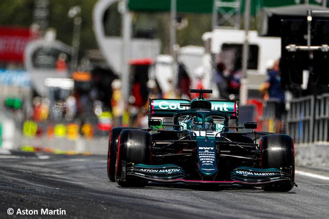 Lance Stroll - Aston Martin - Clasificación - GP España Barcelona - Montmeló 2021
