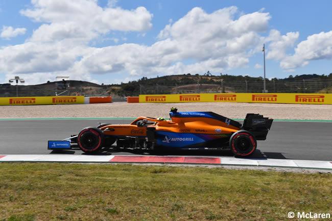 Lando Norris - McLaren - Clasificación - GP Portugal 2021