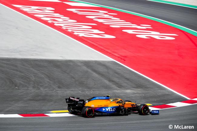 Lando Norris - McLaren - Entrenamientos Libres 2 - FP2 - GP España Barcelona - Montmeló 2021