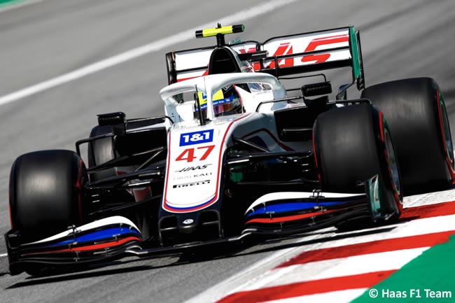 Mick Schumacher - Haas - Clasificación - GP España Barcelona - Montmeló 2021