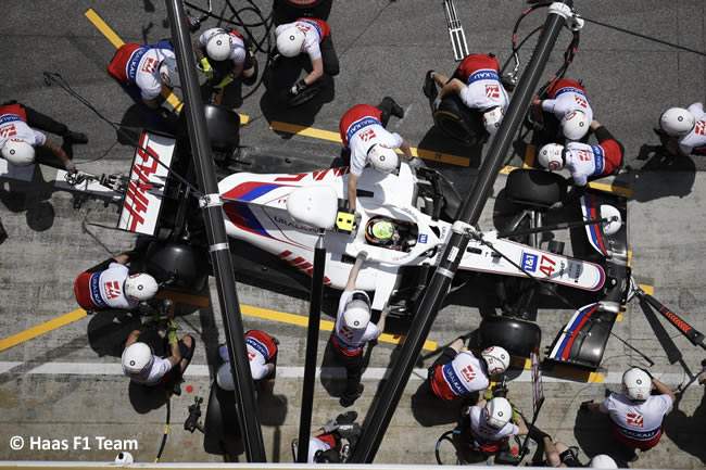 Mick Schumacher - Haas - Entrenamientos Libres 2 - FP2 - GP España Barcelona - Montmeló 2021