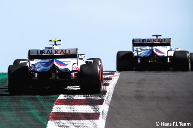 Mick Schumacher - Haas - Clasificación - GP Portugal 2021