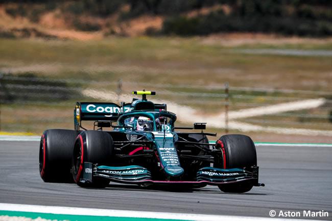 Sebastian Vettel - Aston Martin - Clasificación - GP Portugal 2021
