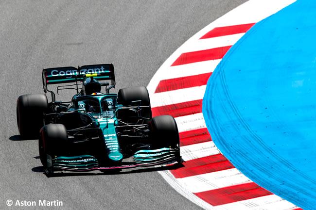 Sebastian Vettel - Aston Martin - Entrenamientos Libres 2 - FP2 - GP España Barcelona - Montmeló 2021