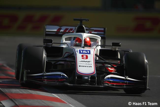 Nikita Mazepin - Haas - Entrenamientos Libres - GP Azerbaiyán 2021