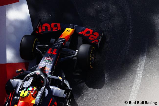 Sergio Pérez - Red Bull Racing - Entrenamientos Libres - GP Azerbaiyán 2021