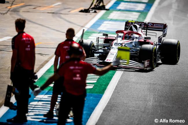 Antonio Giovinazzi - Alfa Romeo - Clasificación - GP Gran Bretaña 2021