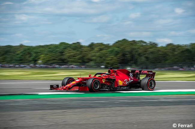 Charles Leclerc - Ferrari - Clasificación - GP Gran Bretaña 2021