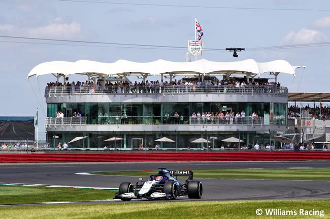 George Russell - Williams - Clasificación - GP Gran Bretaña 2021