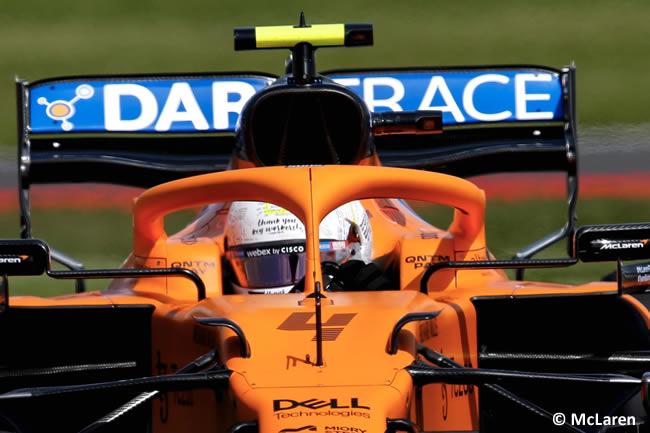 Lando Norris - McLaren - Clasificación - GP Gran Bretaña 2021