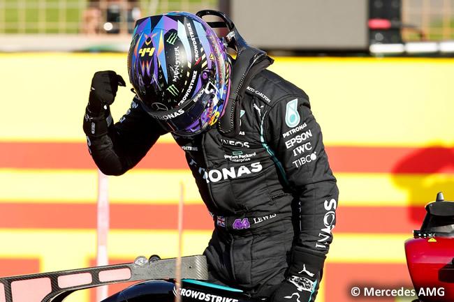 Lewis Hamilton - Mercedes - Clasificación - GP Gran Bretaña 2021