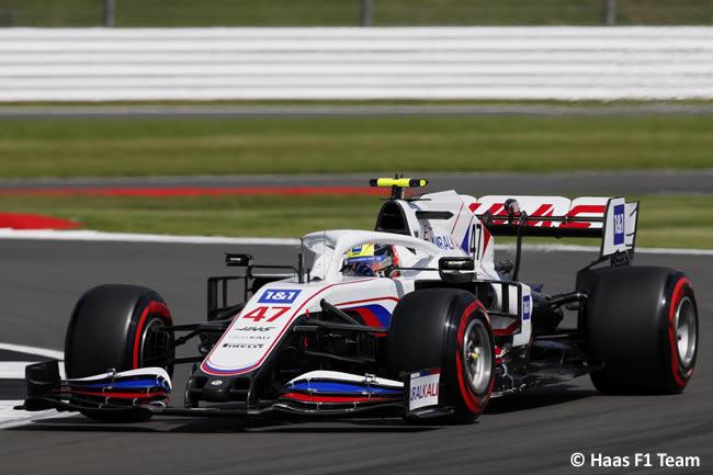 Mick Schumacher - Haas - Clasificación - GP Gran Bretaña 2021
