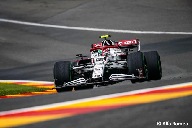 Antonio Giovinazzi - Alfa Romeo - Clasificación - Gp Bélgica 2021
