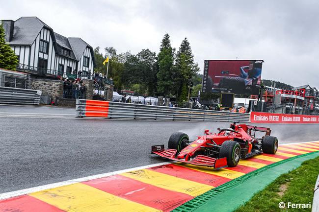 Charles Leclerc - Ferrari - Clasificación - Gp Bélgica 2021