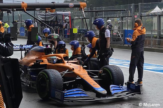 Daniel Ricciardo - McLaren - Clasificación - Gp Bélgica 2021