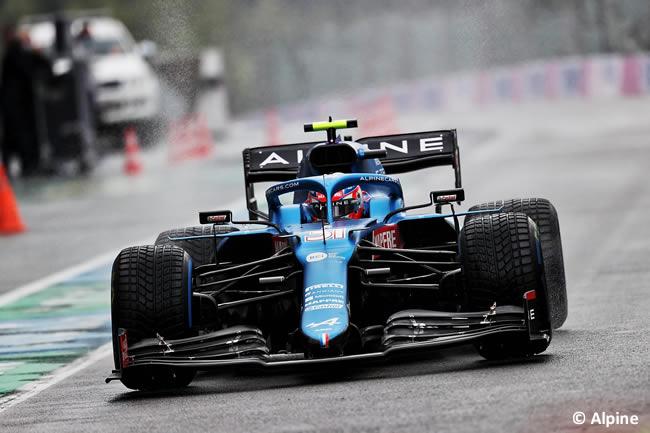 Esteban Ocon - Alpine - Clasificación - Gp Bélgica 2021