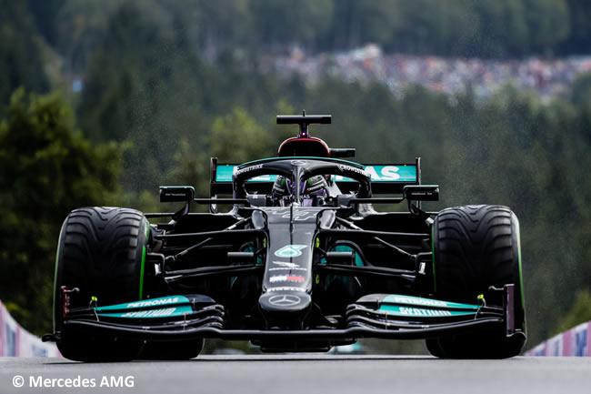 Lewis Hamilton - Mercedes - Clasificación - Gp Bélgica 2021
