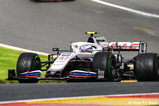 Mick Schumacher - Haas - Clasificación - Gp Bélgica 2021