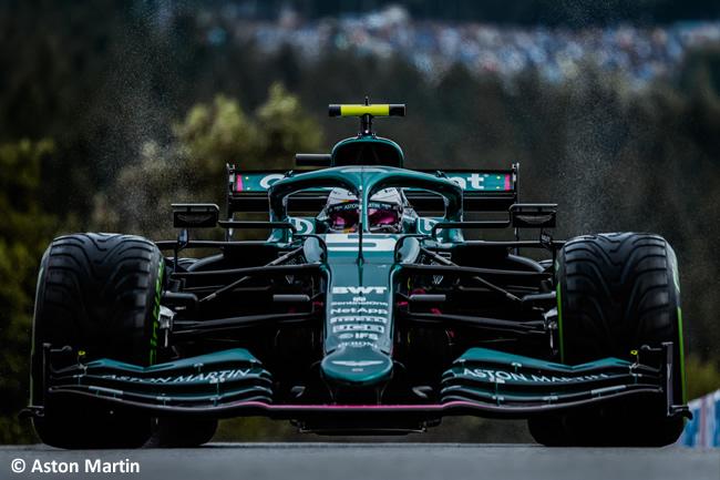 Sebastian Vettel - Aston Martin - Clasificación - Gp Bélgica 2021