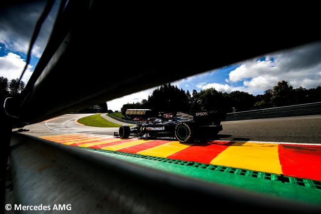 Valterri Bottas - Mercedes - Entrenamientos Libres - Gp Bélgica 2021