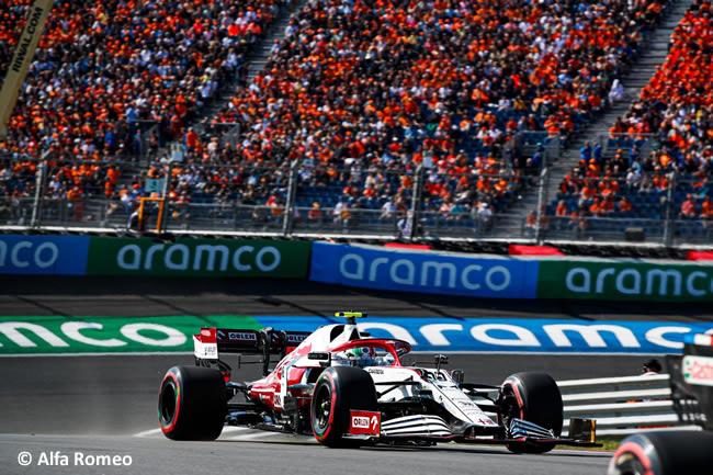 Antonio Giovinazzi - Alfa Romeo- Clasificación - GP Países Bajos 2021