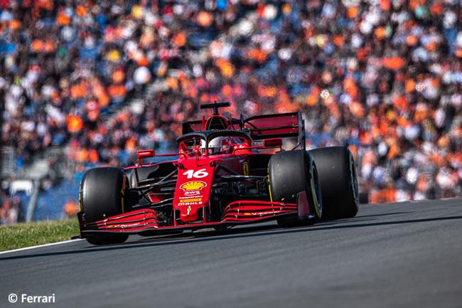Charles Leclerc - Ferrari - Clasificación - GP Países Bajos 2021