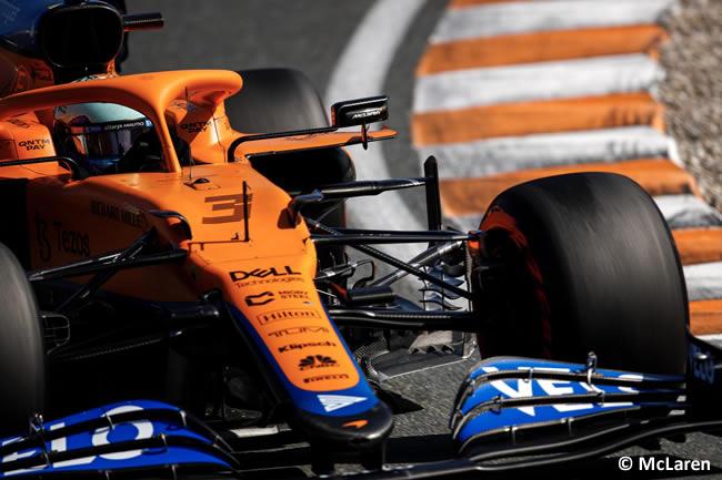 Daniel Ricciardo - McLaren - Clasificación - GP Países Bajos 2021