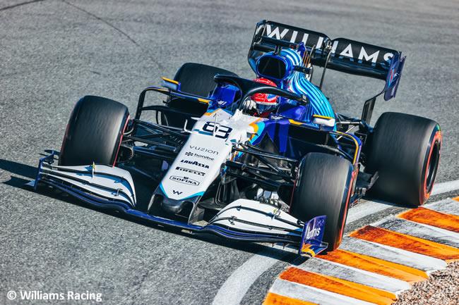 George Russell - Williams - Clasificación - GP Países Bajos 2021