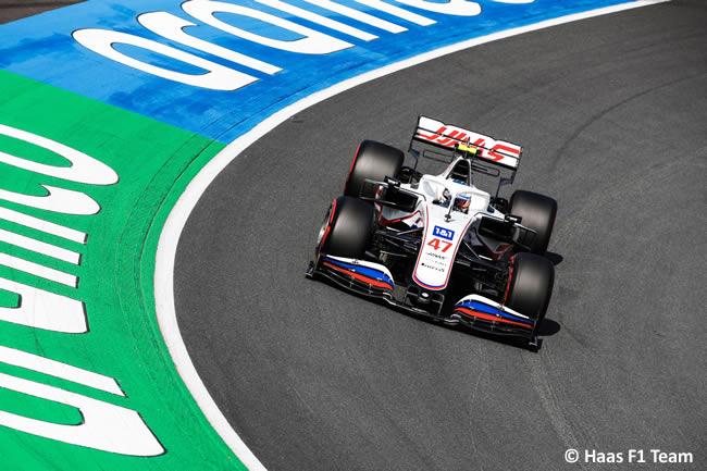 Mick Schumacher - Haas - Clasificación - GP Países Bajos 2021